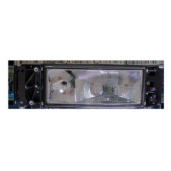 projecteur principal gauche sans correcteur lampe h4 h3 pour iveco todd chrono pi ces et. Black Bedroom Furniture Sets. Home Design Ideas