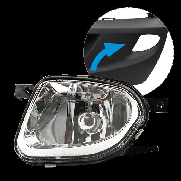 projecteur antibrouillard gauche pour mercedes sprinter 2 todd chrono pi ces et services. Black Bedroom Furniture Sets. Home Design Ideas
