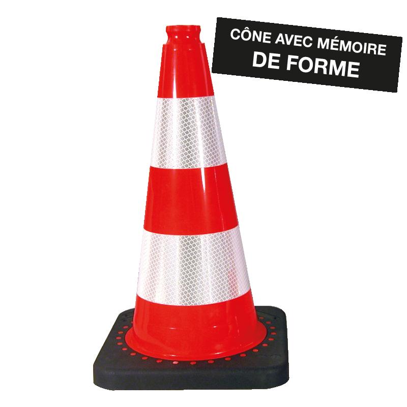 C ne de signalisation 750mm todd chrono pi ces et - Cone de signalisation ...