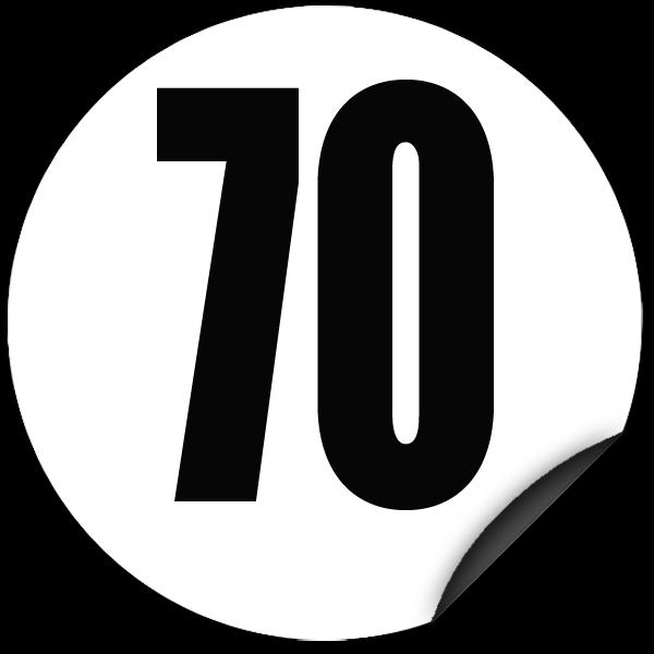 disque limitation de vitesse 70 km h adh sif todd chrono pi ces et services pour tous vos. Black Bedroom Furniture Sets. Home Design Ideas