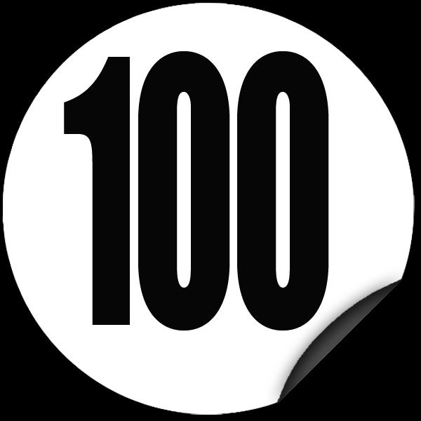 disque limitation de vitesse 100 km h adh sif todd chrono pi ces et services pour tous vos. Black Bedroom Furniture Sets. Home Design Ideas