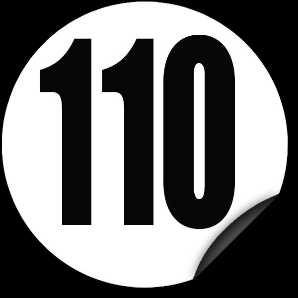 disque limitation de vitesse 110 km h adh sif todd chrono pi ces et services pour tous vos. Black Bedroom Furniture Sets. Home Design Ideas
