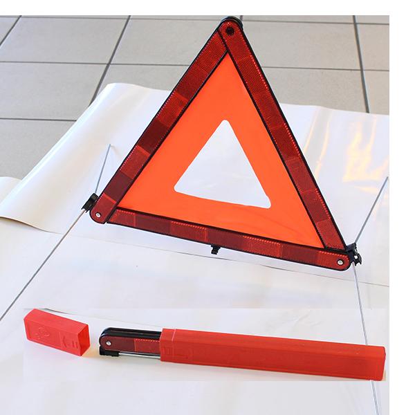 triangle de signalisation rouge 100x45mm s curit routi re todd chrono pi ces et services. Black Bedroom Furniture Sets. Home Design Ideas