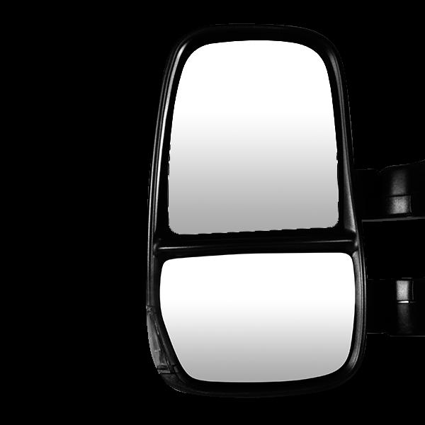 glace sup rieure gauche d givrante pour r troviseur iveco. Black Bedroom Furniture Sets. Home Design Ideas
