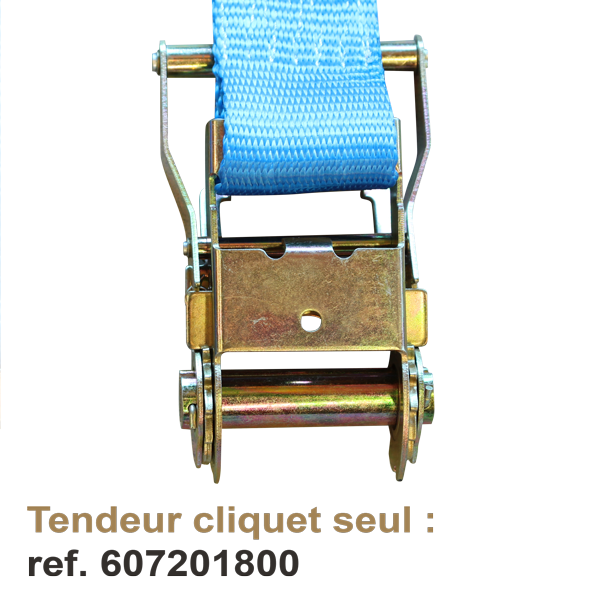 LncBoc 5000 kg 10 m Tendeur /à cliquet Sangle /à cliquet avec cliquet /Élingues avec cliquet 50 mm 1 pi/èce