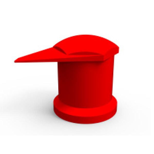 Dustite LR rouge 32mm