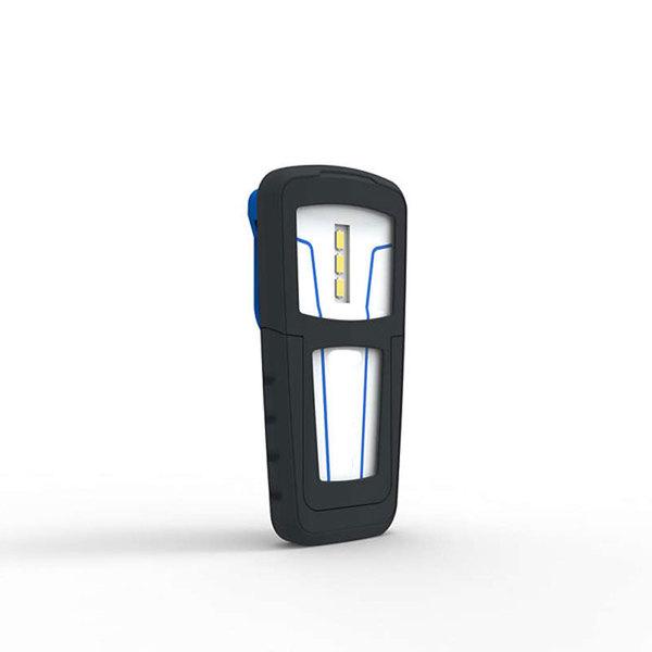 Mini lampe de poche LED, 100LM, IP20, aimant puissant, rotative, USB