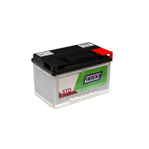 Batterie 12V 72Ah 640A sans entretien pour véhicules utilitaires et véhicules légers