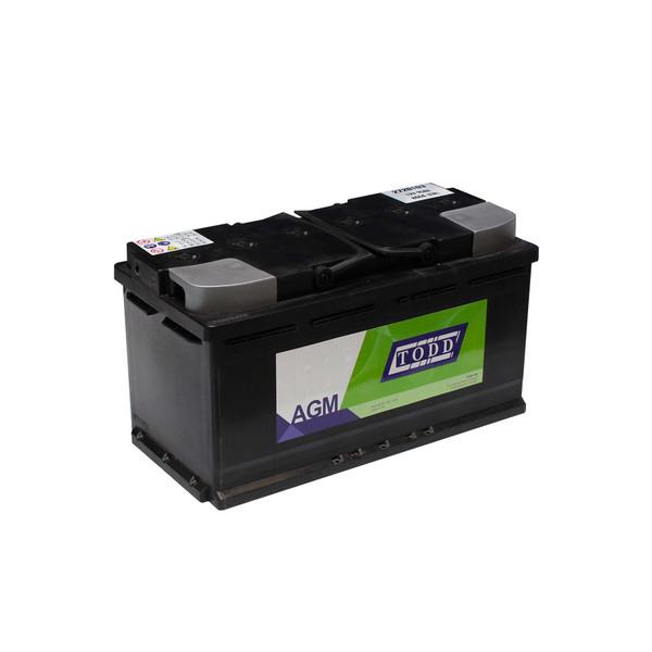 Batterie 12V 95Ah 860A AGM Start & Stop sans entretien pour VUL et véhicules légers, conseillé pour véhicules normes euro 5 et euro 6