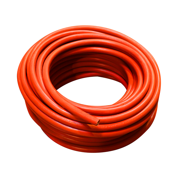 Câble de batterie D50 pour poids-lourds, rouge, souple, bobine de 25mètres