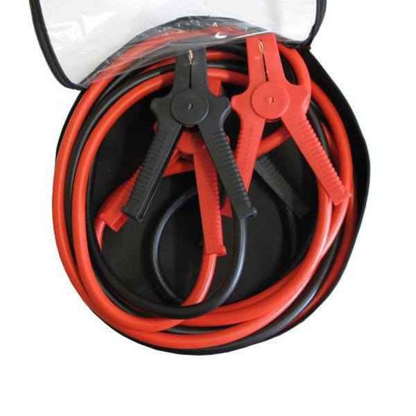 Câbles de démarrage 35mm2, 4.5M, 480A, pour batterie véhicule essence (7L) & gasoil (4L)