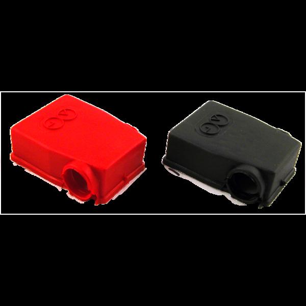 Cache cosse rouge droit type 4000 pour batterie de camion