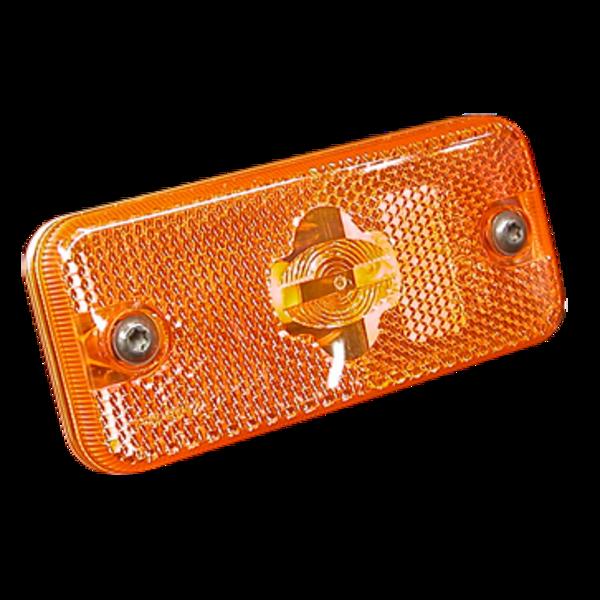 Feu de position latéral FPL93 orange, W5W, à encastrer
