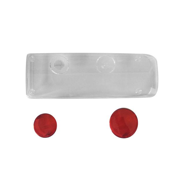 Cabochon droit transparent Easycon 2 pour remorque Krone