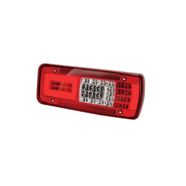 Feu arrière gauche LED avec éclaireur de plaque pour Scania