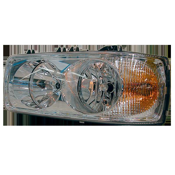 Projecteur principal gauche, lampes H7/H1 pour DAF CF, 95XF 1/2, XF105