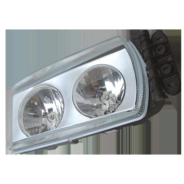 Projecteur manuel droit, lampe H7/H7 pour IVECO Eurocargo 2009