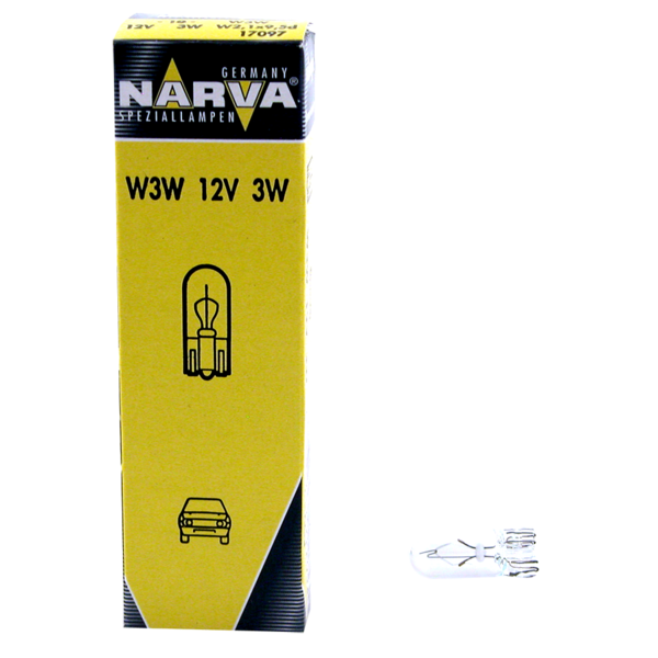 Ampoule 12V 3W W2,1x9,5d pour voitures et VUL
