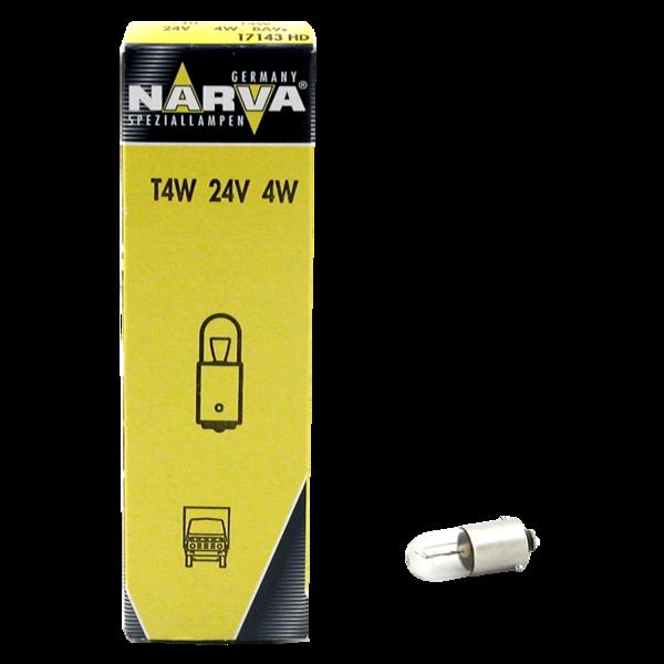 Ampoule 24V 4W BA9S pour véhicules poids lourds