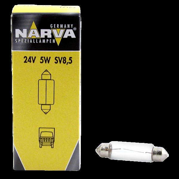 Ampoule 24V 5W SV 8.5 pour véhicules poids lourds