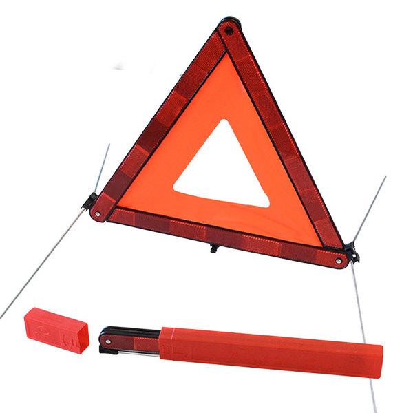 Triangle de signalisation rouge 100x45mm, sécurité routière