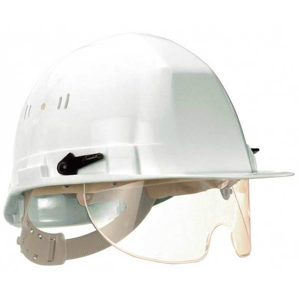 Casque de sécurité à lunettes intégrées