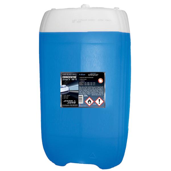 Concentré de lave-glace hiver, 20 litres