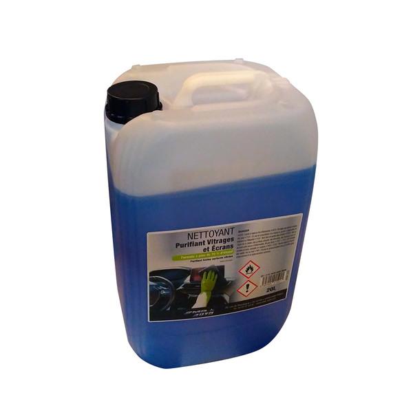 Désinfectant nettoyant pour vitrages et écrans, 20 litres