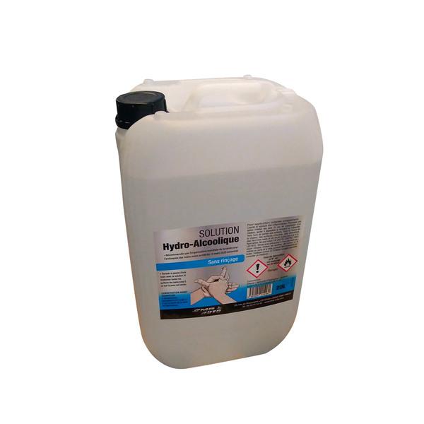Désinfectant hydro-alcoolique pour les mains, 20 litres