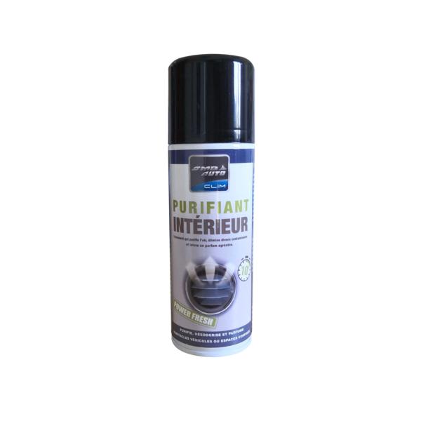 Désinfectant purifiant pour habitacles, traitement de la climatisation, 200ml