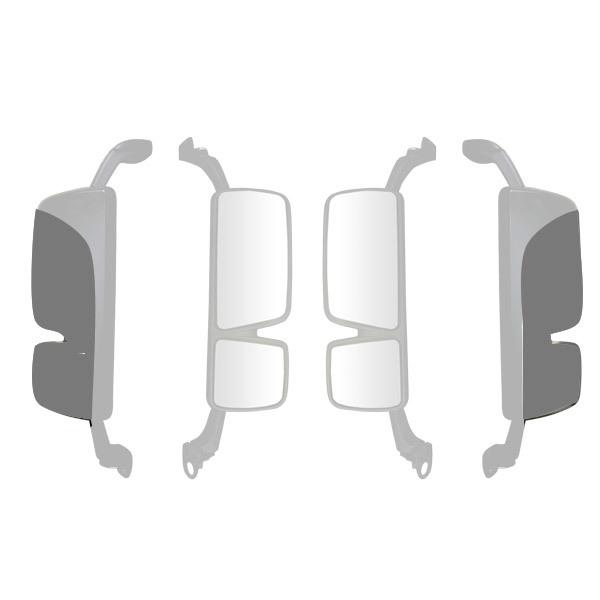 Coque grise rétroviseur principal gauche pour MERCEDES MP3,Megaspace