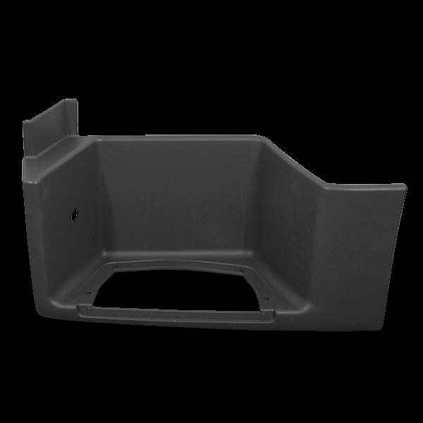 Marchepied inférieur gauche gris sans trappe pour MAN TGA XL/XXL