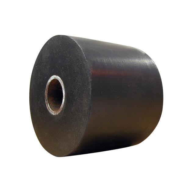 Butoir de quai, tampon caoutchouc (acier) pour camions et remorques - Ref : 3340039
