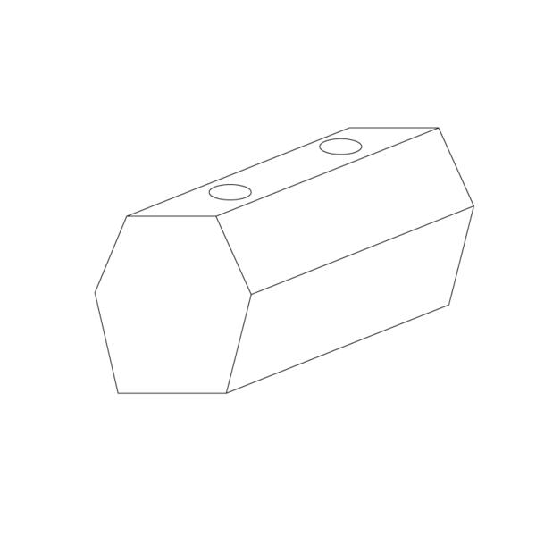 Butoir de quai, tampon caoutchouc (acier) pour camions et remorques - Ref : 3340007