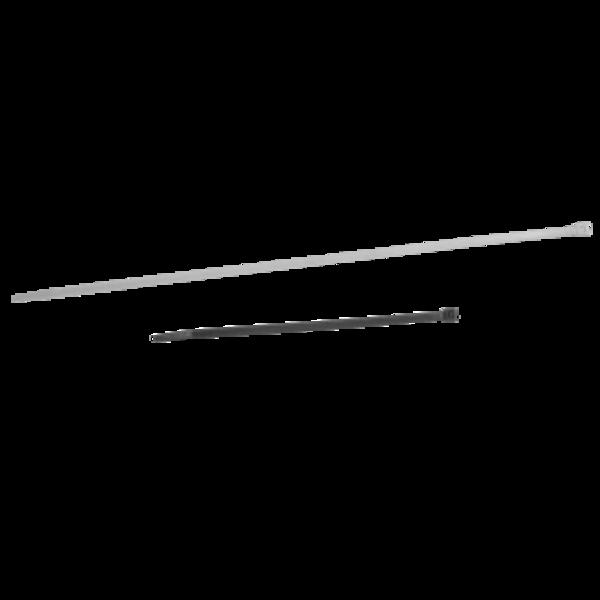 Collier rilsan blanc 240x7,8