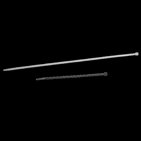 Collier rilsan blanc 300x7,8