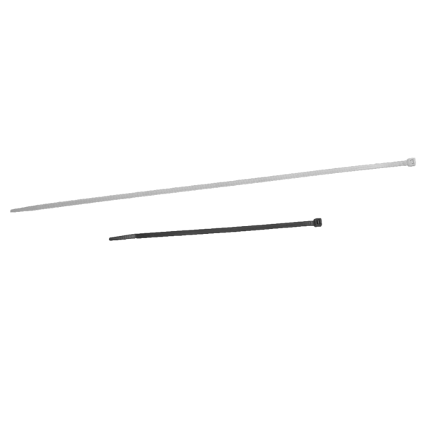 Collier rilsan polyamide noir 365x7.5