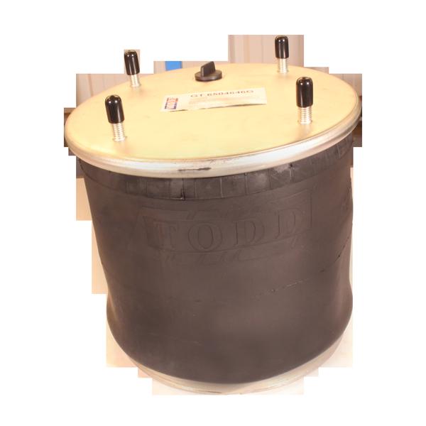 Coussin d'air type 1T19E-1, piston acier, pour remorque TRAILOR