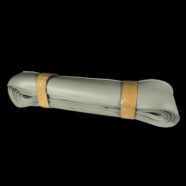 Bavette de toit grise pour remorque PL, semi-remorque