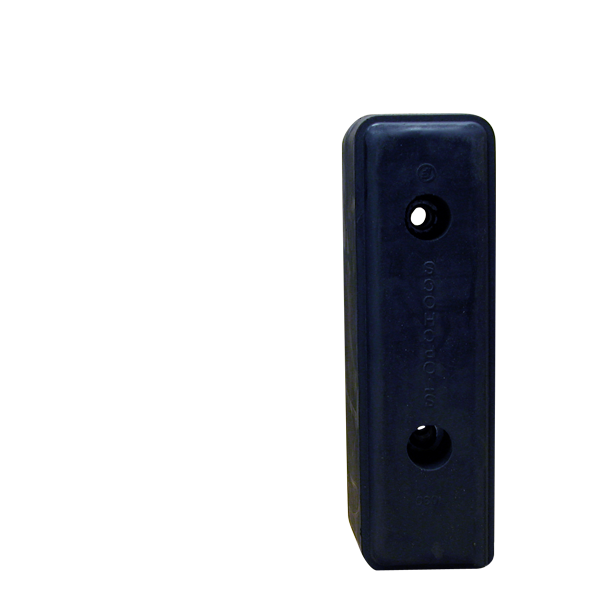 Butoir de quai, tampon caoutchouc (acier) pour camions et remorques - Ref : H030283-03