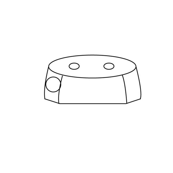 Butoir de quai, tampon caoutchouc (acier) pour camions et remorques - Ref : 2113031