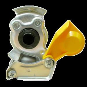 Tête d'accouplement jaune pour tracteur - Ref : 1204004