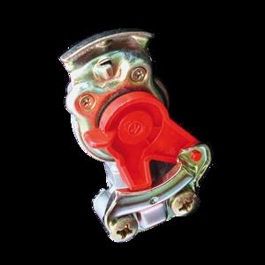 Tête d'accouplement rouge pour remorque - Ref : 12800210