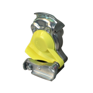 Tête d'accouplement jaune pour tracteur - Ref : 12802220