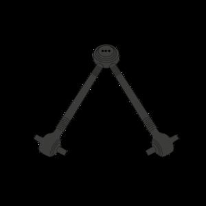 Bielle triangulaire pour VOLVO FH12 / FH16, FM10 / FM12