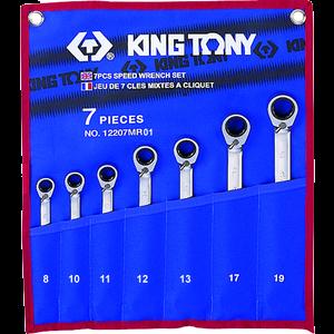 Jeu de 7 clés mixtes