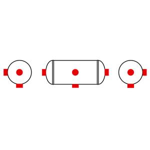 Réservoir 20 L diamètre 246 mm - 5000716324