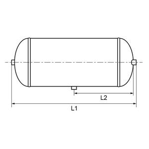 Réservoir 30 L diamètre 246 mm - 5000716327