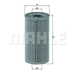 Elément filtrant pour filtre à huile pour RENAULT / NISSAN / OPEL