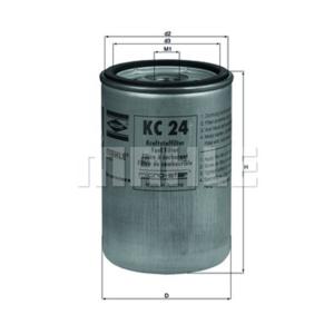 Elément filtrant de filtre à carburant 40000km pour RENAULT / IVECO